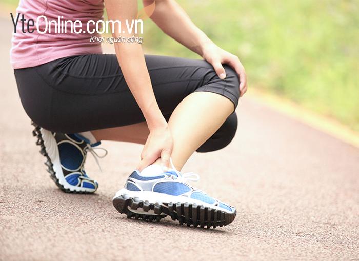 Bạn có thể bị chấn thương khi chạy bộ
