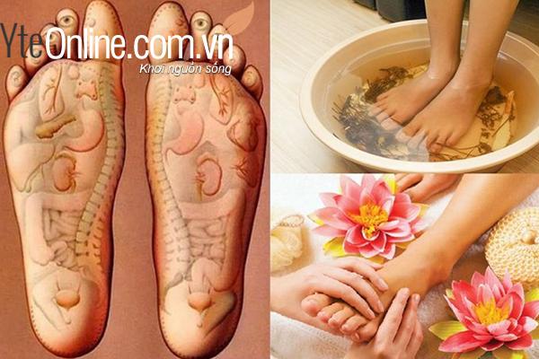 Sử dụng bồn ngâm chân chữa nhiều loại bệnh