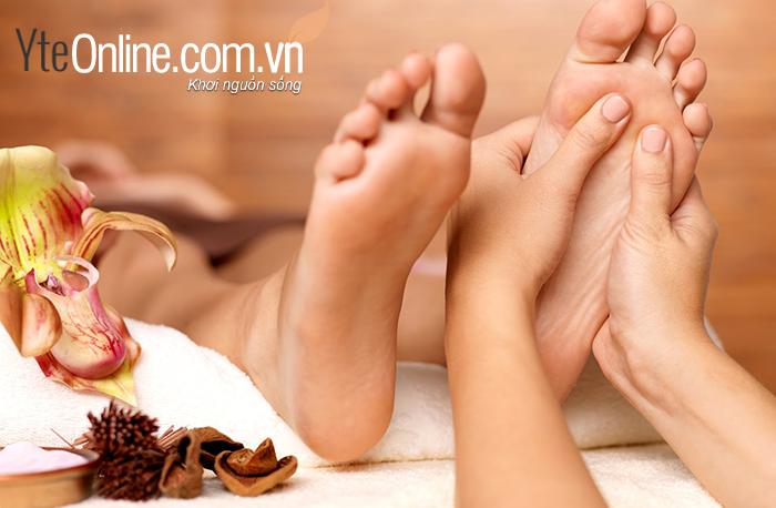 Cách giảm đau khớp vào mùa đông với bồn ngâm chân