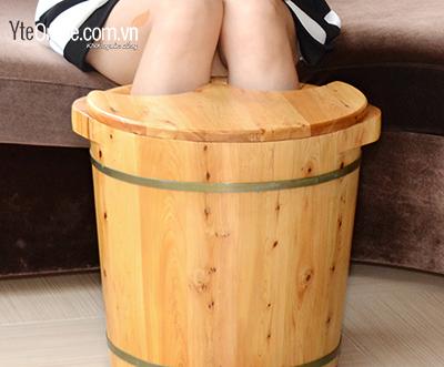 Cải thiện sức khỏe, giảm mệt mỏi với bồn ngâm chân