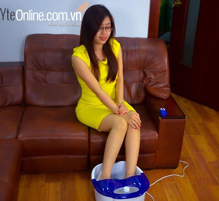 5 tác dụng của máy massage chân