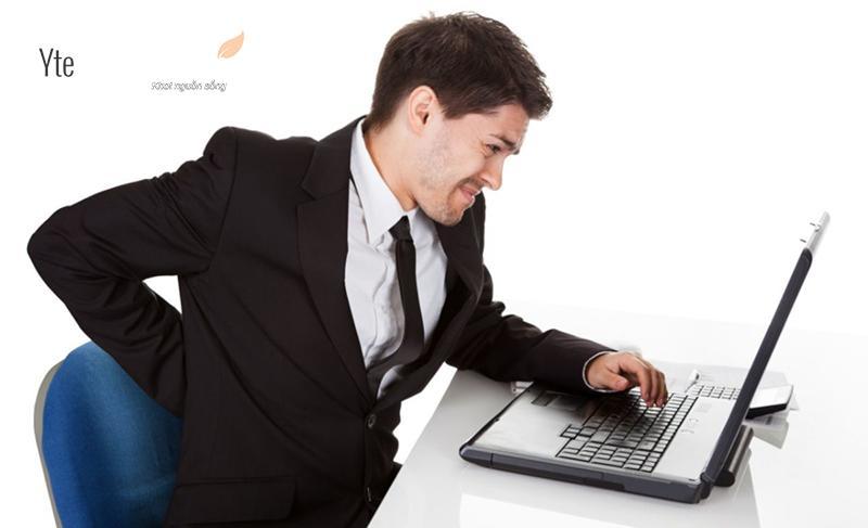 Mẹo giảm đau lưng dành cho dân văn phòng