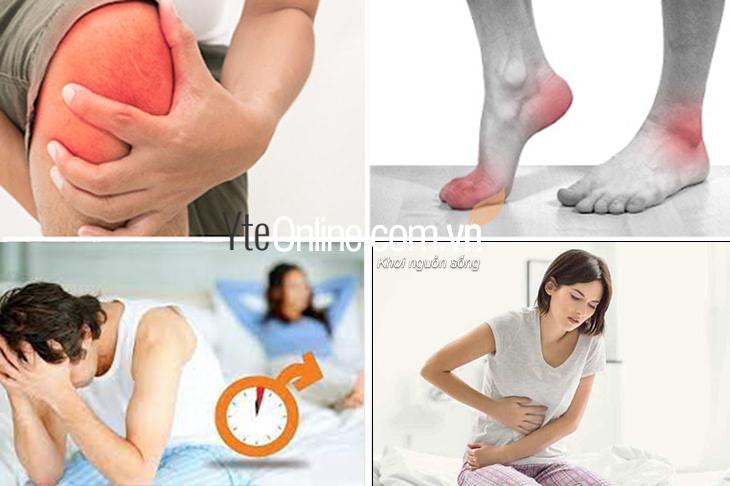 Danh sách 08 bệnh thường gặp có thể cải thiện khi dùng bồn ngâm chân