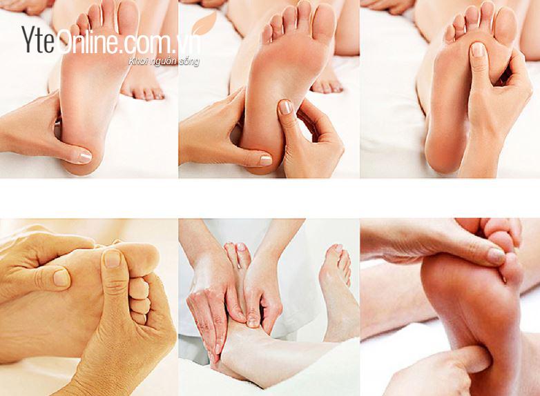 Cách chăm sóc sức khỏe qua một số huyệt đạo chính ở chân